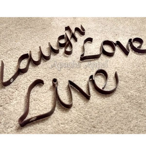 Wrought Iron Accents - Live Love Laugh Wrought Iron Wall decor